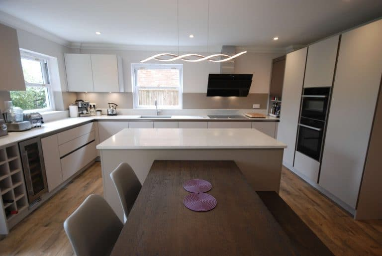 Image of a kitchen renovation in Guildford