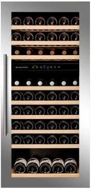 1235mm high built-in wine cooler