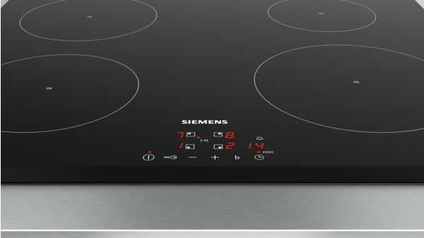 Image showing touch controls for induction hobs