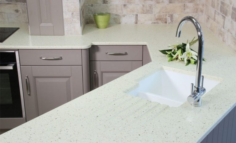 Image showing the versatility of Mistral worktops