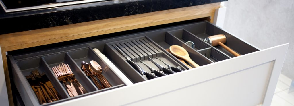 Image of inside a kitchen drawer