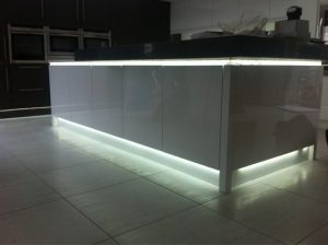 Image showing plinth kitchen lighting