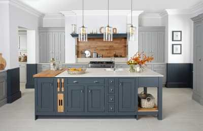 Image of a traditional style kitchen