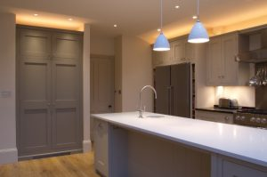 Image showing uplighting in a kitchen