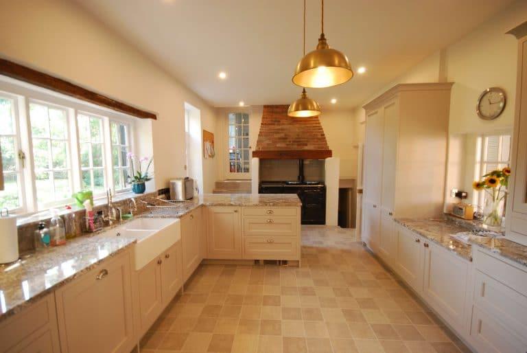 Image of cottage kitchen installation