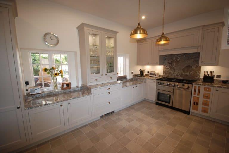 Photo showing granite worktops and dresser units