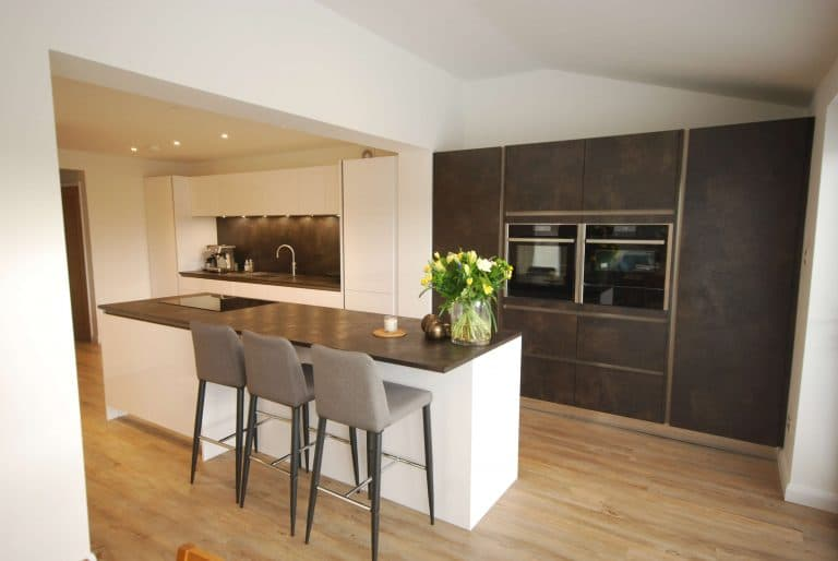 Image of contemporary kitchen extension